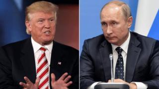 Donald Trump alimsifia sana Vladmir Putin wakati wa kampeni za urais