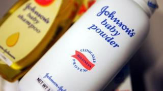 J&J baby powder