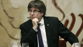 زعيم اقليم كتالونيا
