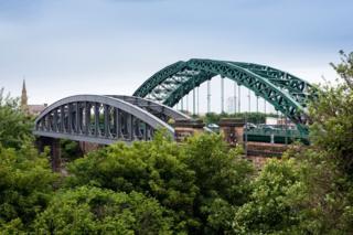 Sunderland's bridges