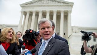 The US Supreme Court overturned the bribery conviction of former Virginia Gov. Bob McDonnell.