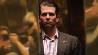 Дональд Трамп-младший говорит, что не получил важной информации во время встречи с россиянкой