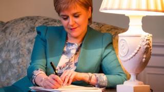 蘇格蘭首席部長尼古拉·斯特金