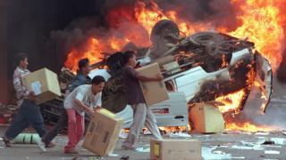 Rioting in Jakarta, 1998