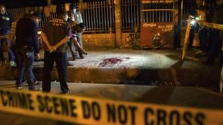 Murder scene in Bangladesh