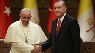 Papa ve Erdoğan