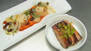 Dish from Masterchef