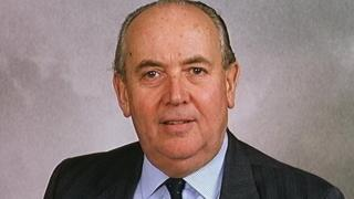 The late Conservative MP Sir John Hunt