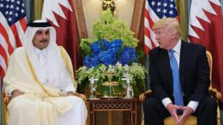 король саудівської аравії, трамп