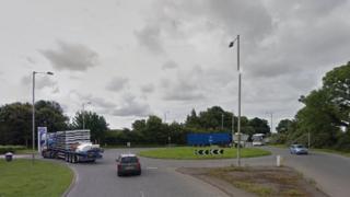 Scotland Road roundabout