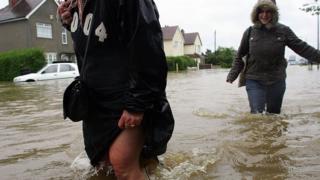 Hull floods