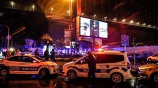 Місце нападу в Стамбулі
