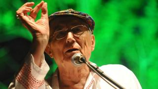 Yevgeny Yevtushenko at International Poetry Festival, Colombia 2010