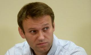 Alexei Navalny during a court appearance in 2013
