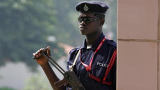 Ghana policeman