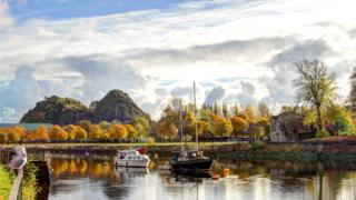 Boats on the River Leven