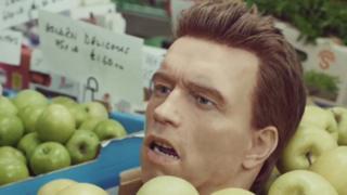 FCA advert featuring Arnold Schwarzenegger
