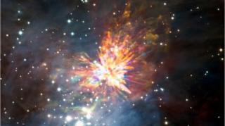 ดาวฤกษ์,ดอกไม้ไฟแห่งห้วงอวกาศ