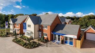 Bovis completed houses