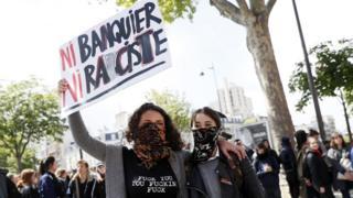 Fransa'da bir gösteri