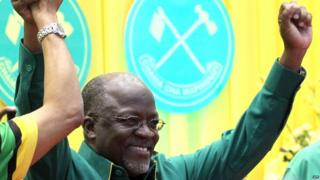 John Magufuli, CCM party's presidential candidate in Tanzania - July 2015
