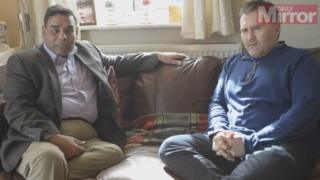Khalid Mahmood and Sion Simon