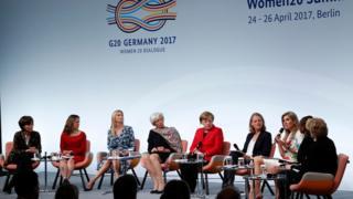 在德国柏林举行的20国集团女性对话会