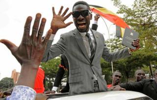 Robert Kyagulanyi / Bobi Wine dey jubilate