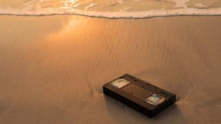 VHS on beach