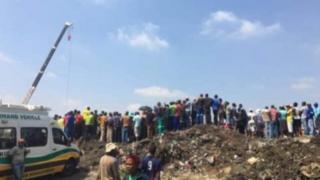 Mtoto aliyetoweka Afrika Kusini bado atafutwa
