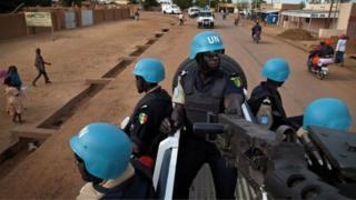 Vikosi vya Umoja wa Mataifa, Mali
