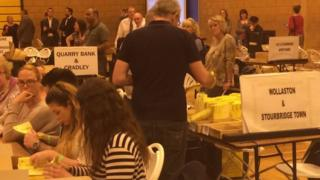 Dudley election count