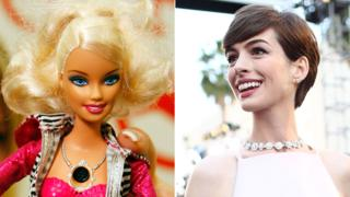 Barbie and Anne Hathaway