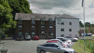 The BASC headquarters, Rossett