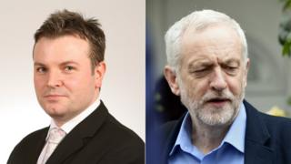 Jamie Reed and Jeremy Corbyn