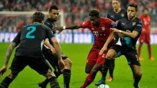 Bayern ta sha fitar da Arsenal a wannan zagayen