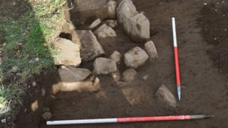 Evidence of a possible Iron Age structure