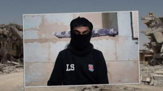 IŞİD militanı çocuk