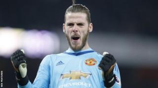 Manchester United keeper David de Gea