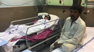 احمد پور شرقیہ سانحے میں زخمی ہونے والا ایک شخص