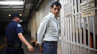 Manuel Lopez Ambrosio yafatiwe mu muji wa Guatemala