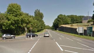 A465 near Abergavenny