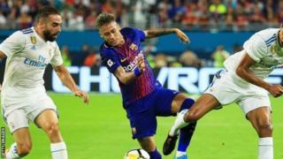 Neymar yateye igikumu ku masezerano azomushikana mu 2021 akinira Barcelone