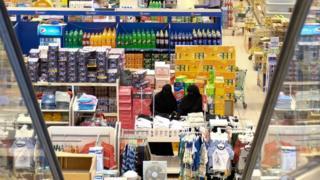 Supermarket in Doha