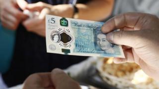 £5 polymer note