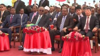 Madaxda Itoobiya, Djibouti iyo Shiinaha
