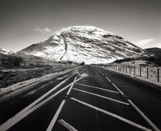 Вид на сопку в долине Гленко, Шотландия, 1989 г.