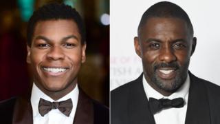 John Boyega and Idris Elba