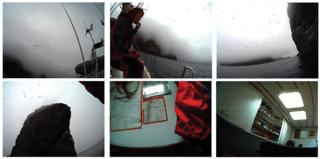 Digital images taken by Claire with a sensory operated camera, St Kilda, 2013 - by artist Shona Illingworth