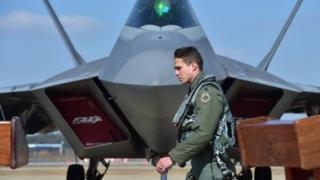 Abo bantu bararondeye kumenya amabanga ya F-22